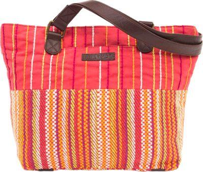 Bella Taylor Shoulder Tote Tabitha Red - Bella Taylor Fabric Handbags