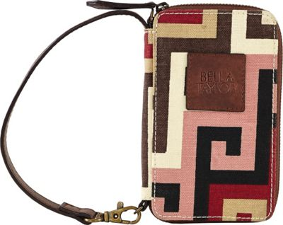 Image of Bella Taylor Ambrose Classic Wristlet Wallet Pink - Bella Taylor Ladies Small Wallets