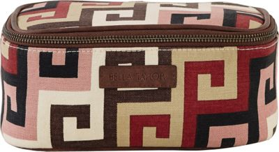 Image of Bella Taylor Ambrose Cosmetic Case Pink - Bella Taylor Ladies Cosmetic Bags