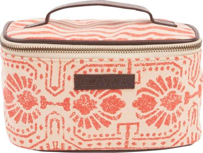 Image of Bella Taylor Cosmetic Case Amber Orange - Bella Taylor Women's SLG Other