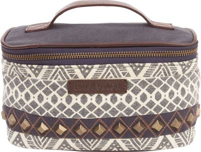 Image of Bella Taylor Cosmetic Case Brooke White - Bella Taylor Women's SLG Other