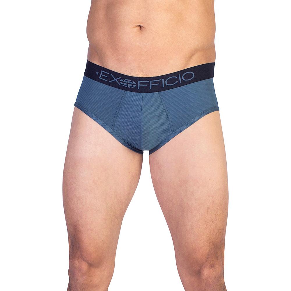 ExOfficio Give-N-Go Sport Mesh Brief XL - Phantom - ExOfficio Mens Apparel - Apparel & Footwear, Men's Apparel