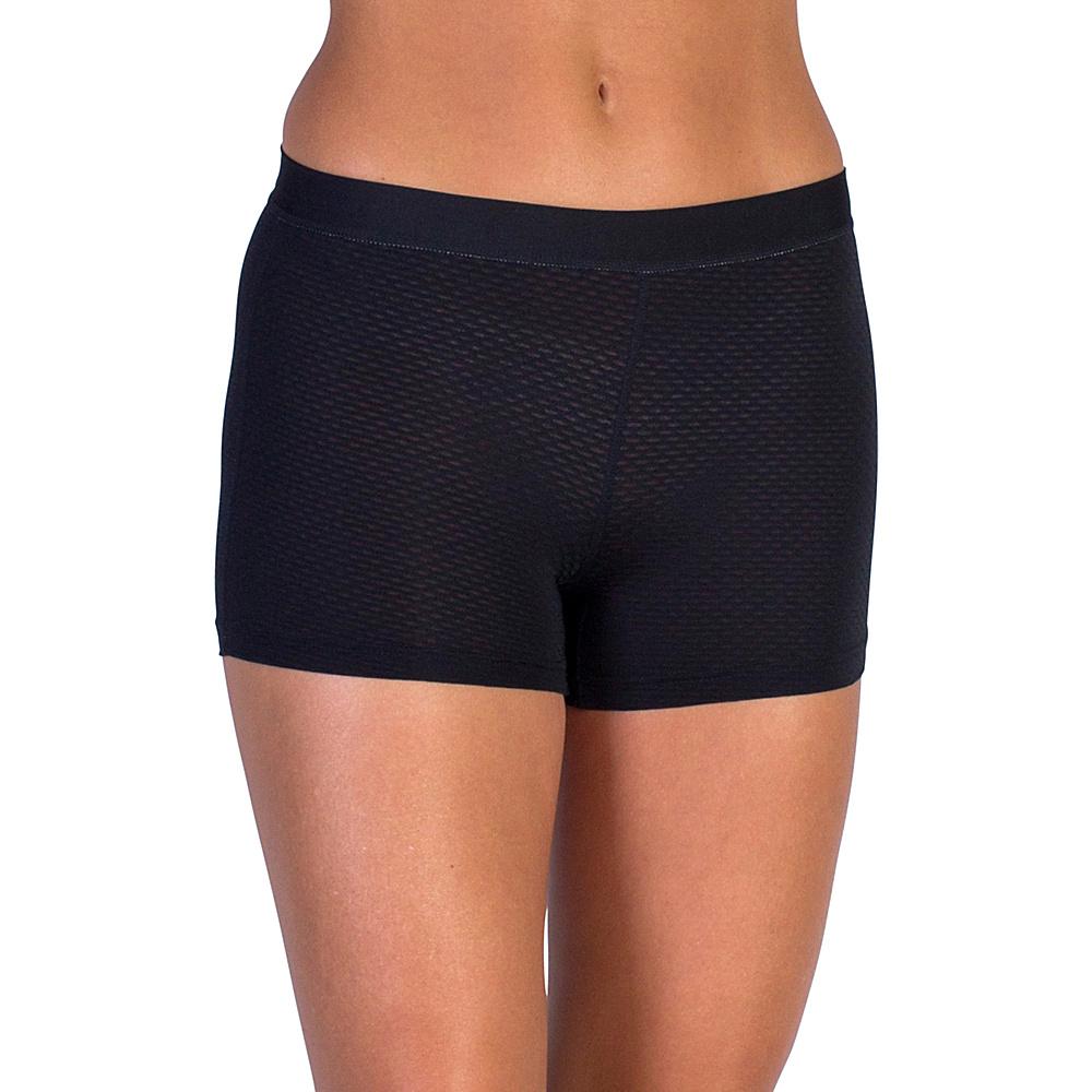 ExOfficio Give-N-Go Sport Mesh 2 Boy Short L - Black - ExOfficio Womens Apparel - Apparel & Footwear, Women's Apparel