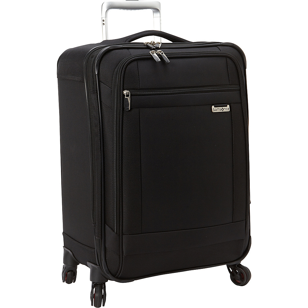 Samsonite SoLyte Spinner 21 Black Samsonite Softside Carry On