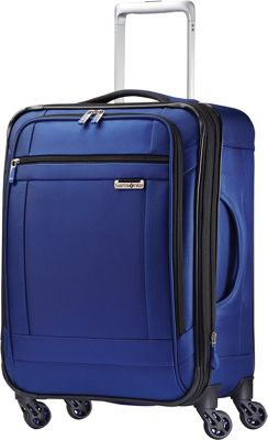"Samsonite SoLyte Spinner 21"""" True Blue - Samsonite Softside Carry-On"