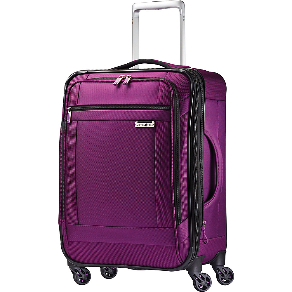 Samsonite SoLyte Spinner 21 Purple Magic Samsonite Softside Carry On