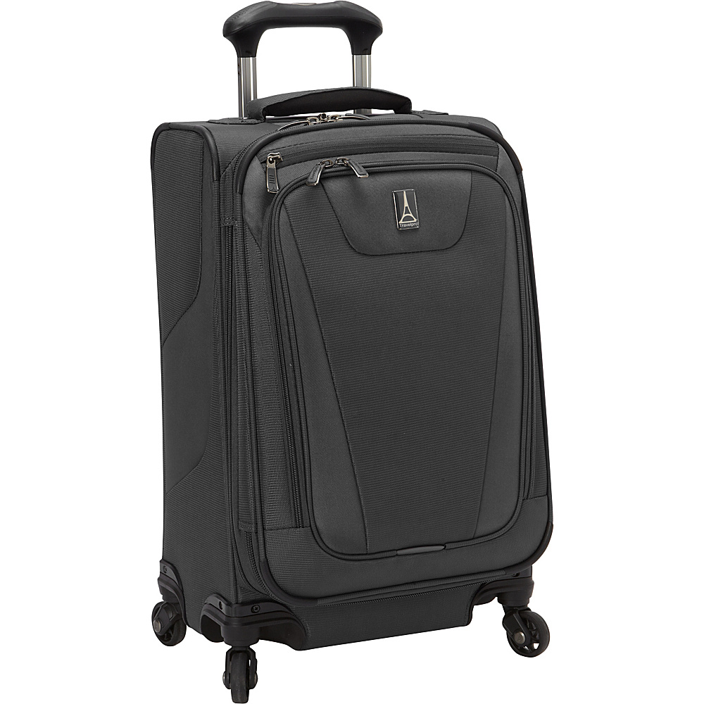 Travelpro Maxlite 4 21 Expandable Spinner Black Travelpro Softside Carry On