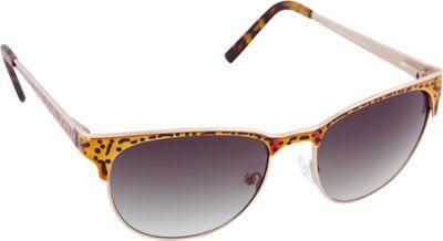 Vince Camuto Eyewear VC646 Sunglasses Gold / Leopard - Vince Camuto Eyewear Sunglasses