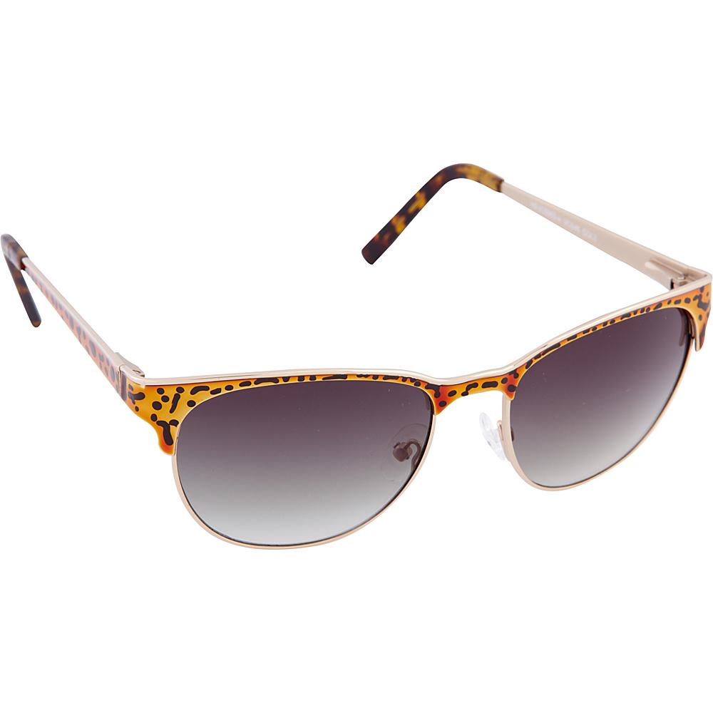 Vince Camuto Eyewear VC646 Sunglasses Gold Leopard Vince Camuto Eyewear Sunglasses