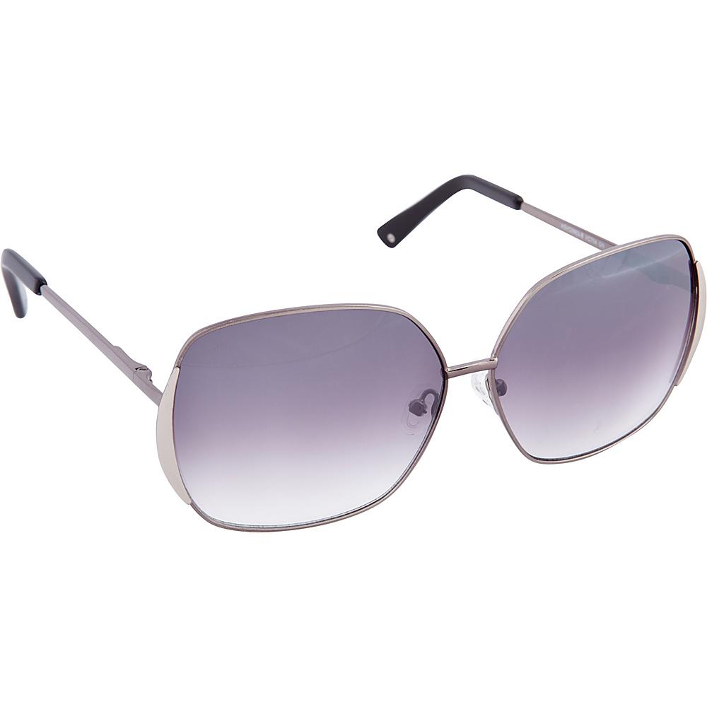 Vince Camuto Eyewear VC704 Sunglasses Gunmetal Black Vince Camuto Eyewear Sunglasses