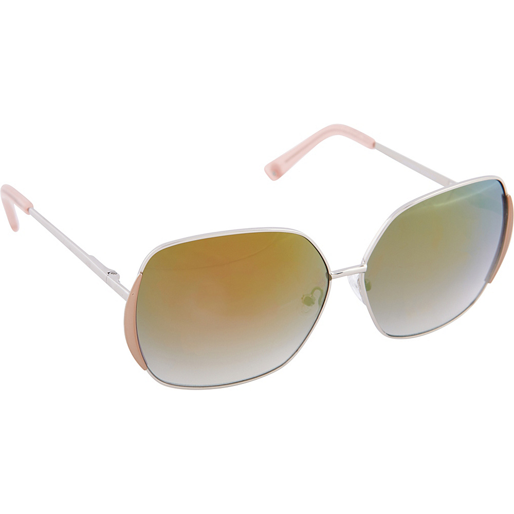 Vince Camuto Eyewear VC704 Sunglasses Silver Vince Camuto Eyewear Sunglasses