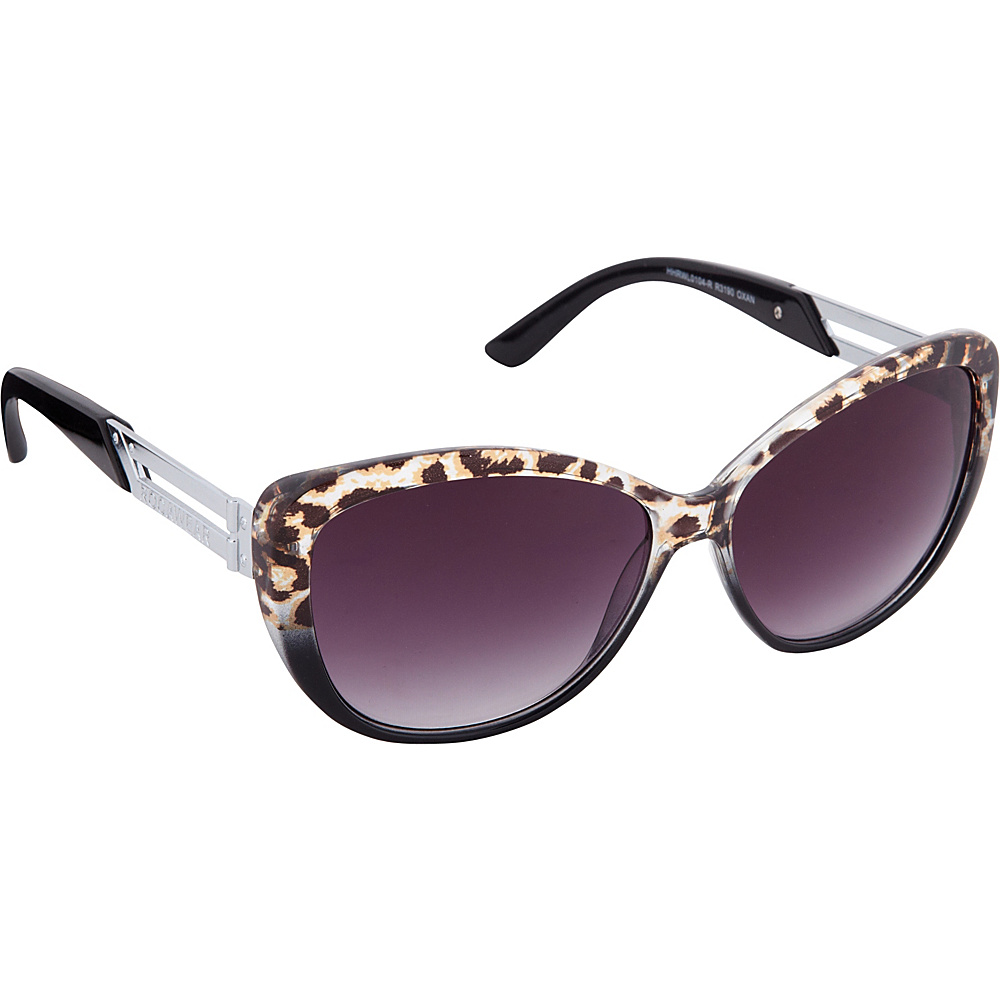 Rocawear Sunwear R3190 Women s Sunglasses Black Animal Rocawear Sunwear Sunglasses