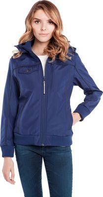 BAUBAX Women's Bomber Jacket XS - Blue - BAUBAX Women's Apparel