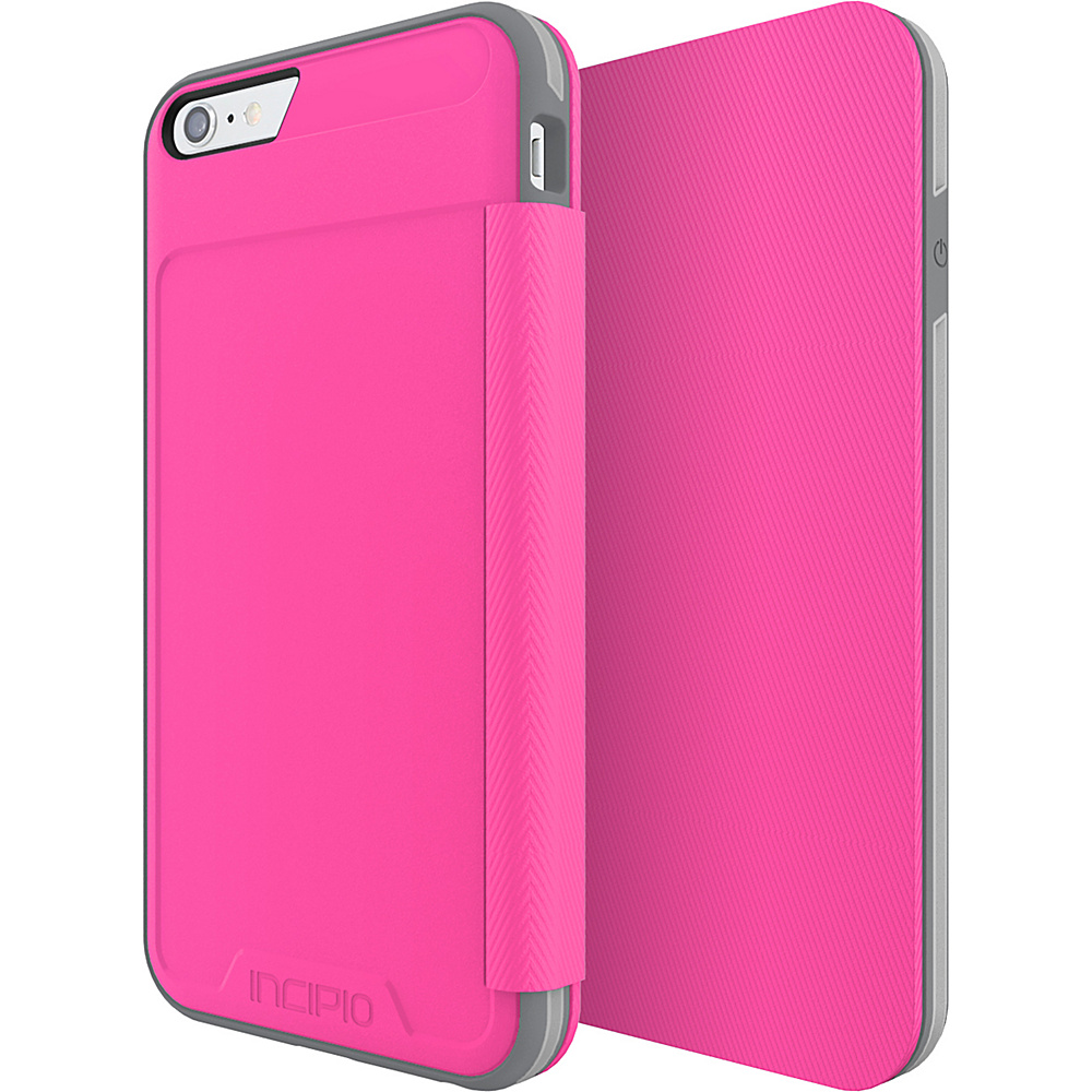 Incipio Performance Series Level 3 Folio for iPhone 6 Plus / 6s Plus Pink/Gray - Incipio Electronic Cases - Technology, Electronic Cases