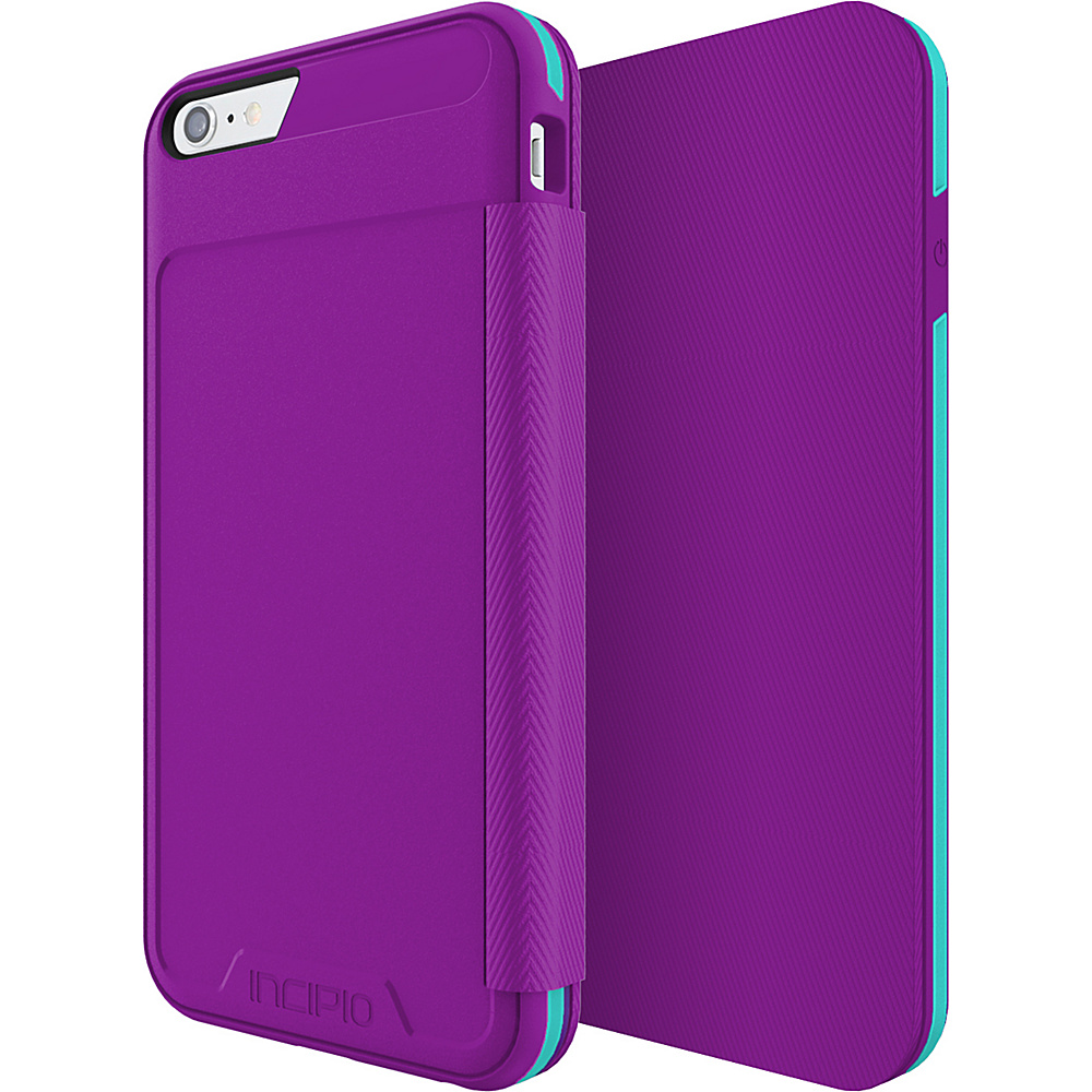 Incipio Performance Series Level 3 Folio for iPhone 6 Plus / 6s Plus Purple/Teal - Incipio Electronic Cases - Technology, Electronic Cases