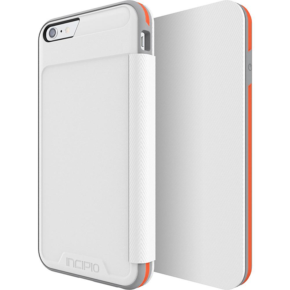 Incipio Performance Series Level 3 Folio for iPhone 6 Plus / 6s Plus White/Orange - Incipio Electronic Cases - Technology, Electronic Cases