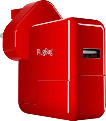 Twelve South PlugBug World USB Device Charger with Global Adapter Red - Twelve South Electronic Accessories