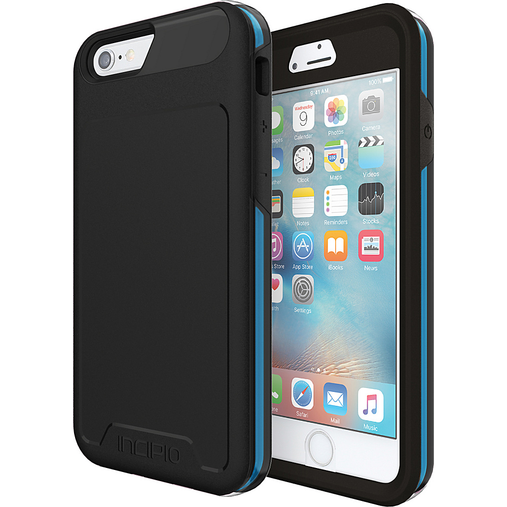 Incipio Performance Series Level 5 for iPhone 6/6s Black/Cyan - Incipio Electronic Cases - Technology, Electronic Cases