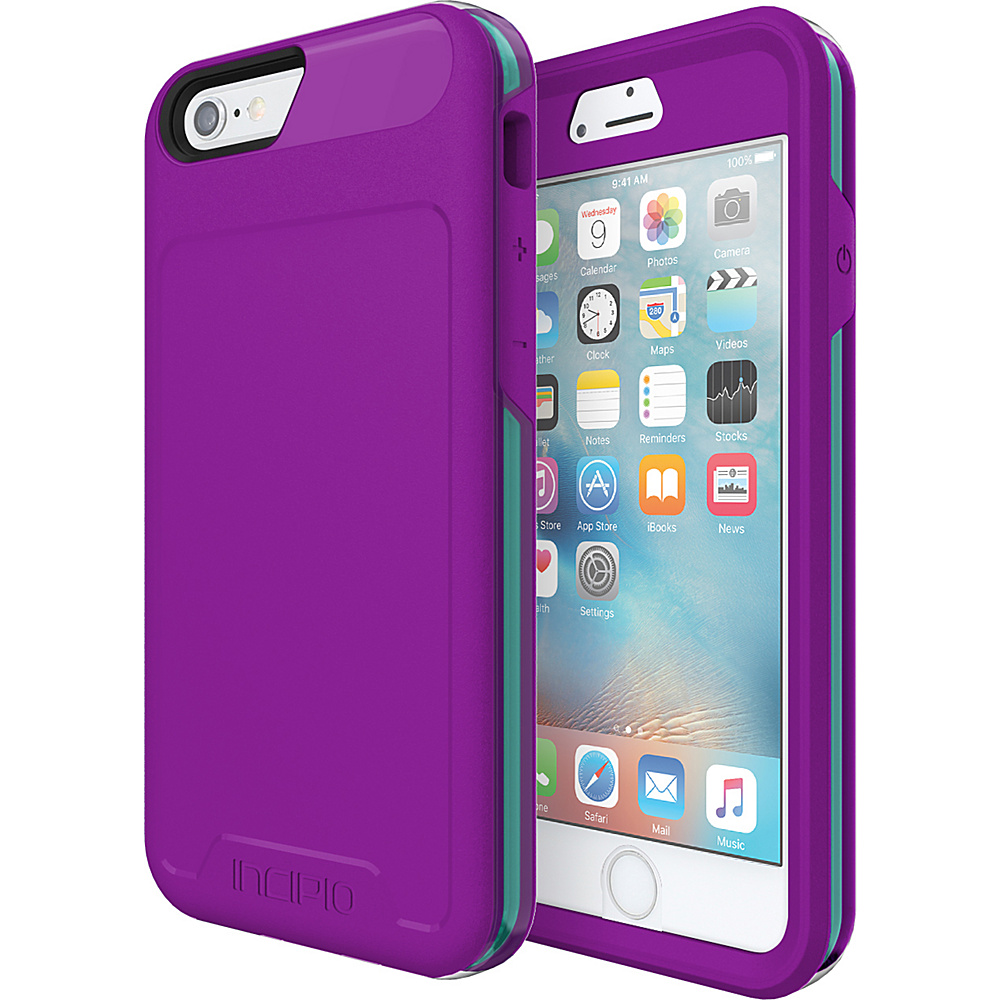 Incipio Performance Series Level 5 for iPhone 6/6s Purple/Teal - Incipio Electronic Cases - Technology, Electronic Cases