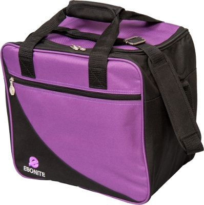 Ebonite Basic Shoulder Bag Purple - Ebonite Bowling Bags
