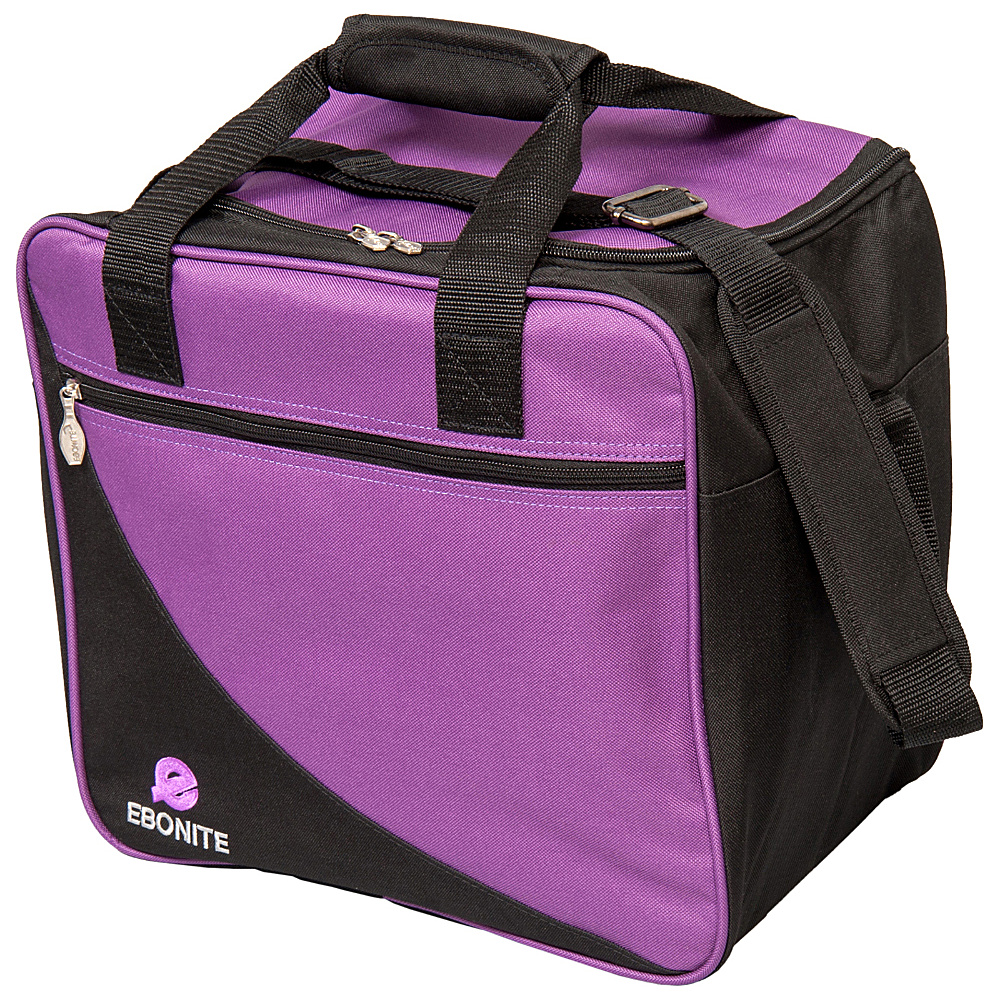 Ebonite Basic Shoulder Bag Purple Ebonite Bowling Bags