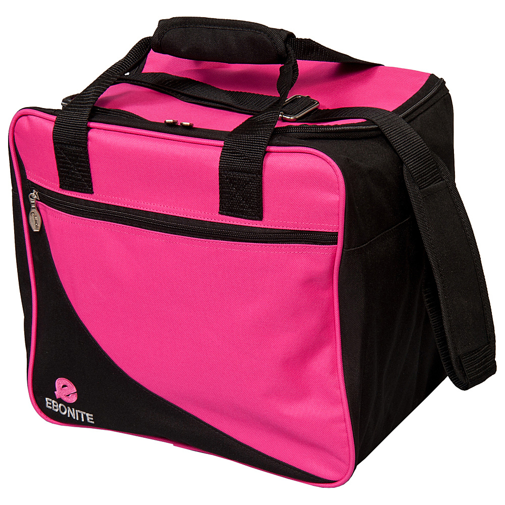 Ebonite Basic Shoulder Bag Pink Ebonite Bowling Bags