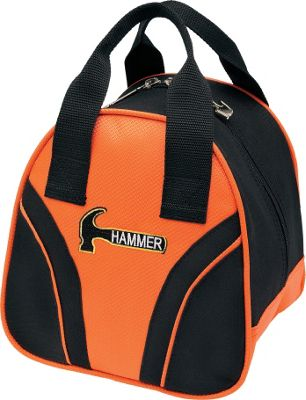Hammer Plus One Tote Black/Orange - Hammer Bowling Bags