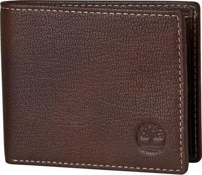 Timberland Wallets Blix Slimfold Wallet Brown - Timberland Wallets Men's Wallets