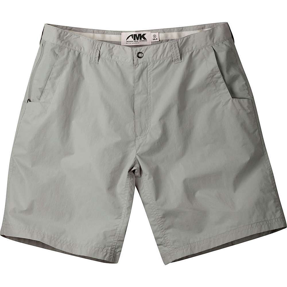 Mountain Khakis Equatorial Shorts 34 - 9in - Willow - 30W 10in - Mountain Khakis Mens Apparel - Apparel & Footwear, Men's Apparel