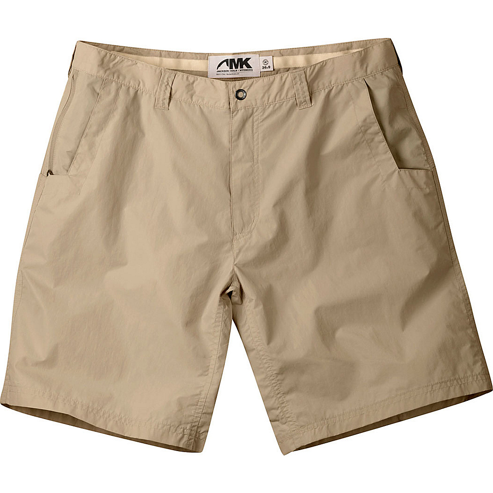 Mountain Khakis Equatorial Shorts 32 - 11in - Retro Khaki - Mountain Khakis Mens Apparel - Apparel & Footwear, Men's Apparel