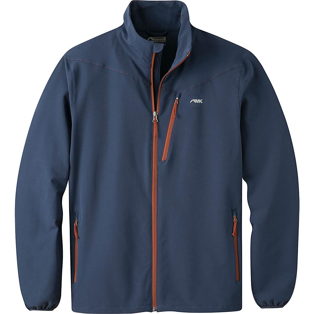 Mountain Khakis Maverick LT Softshell Jacket S - Midnight Blue - Mountain Khakis Mens Apparel - Apparel & Footwear, Men's Apparel