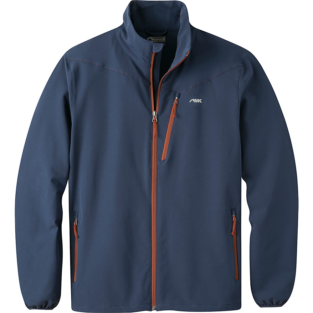 Mountain Khakis Maverick LT Softshell Jacket L - Midnight Blue - Mountain Khakis Mens Apparel - Apparel & Footwear, Men's Apparel