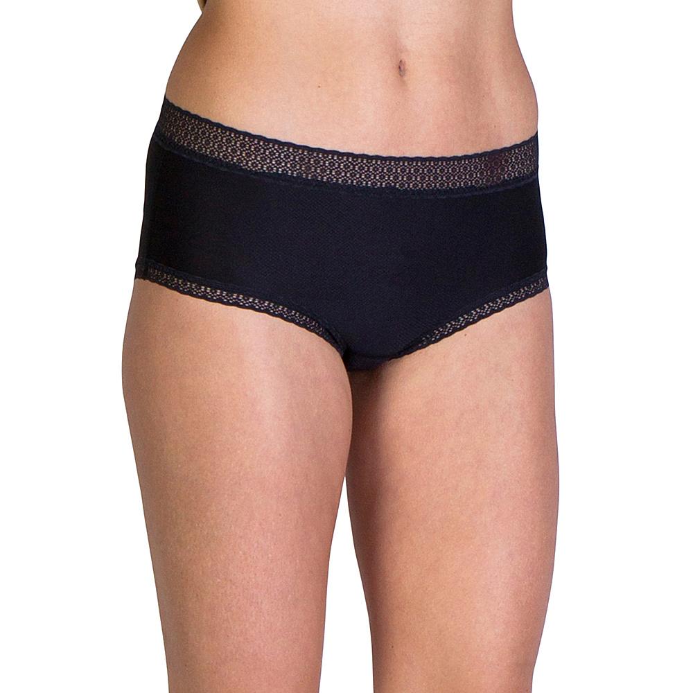 ExOfficio Give-N-Go Lacy Full Cut Brief S - Black - ExOfficio Womens Apparel - Apparel & Footwear, Women's Apparel