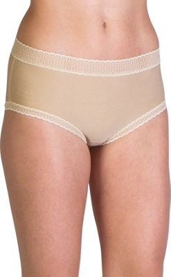 ExOfficio Give-N-Go Lacy Full Cut Brief S - Nude - ExOfficio Women's Apparel