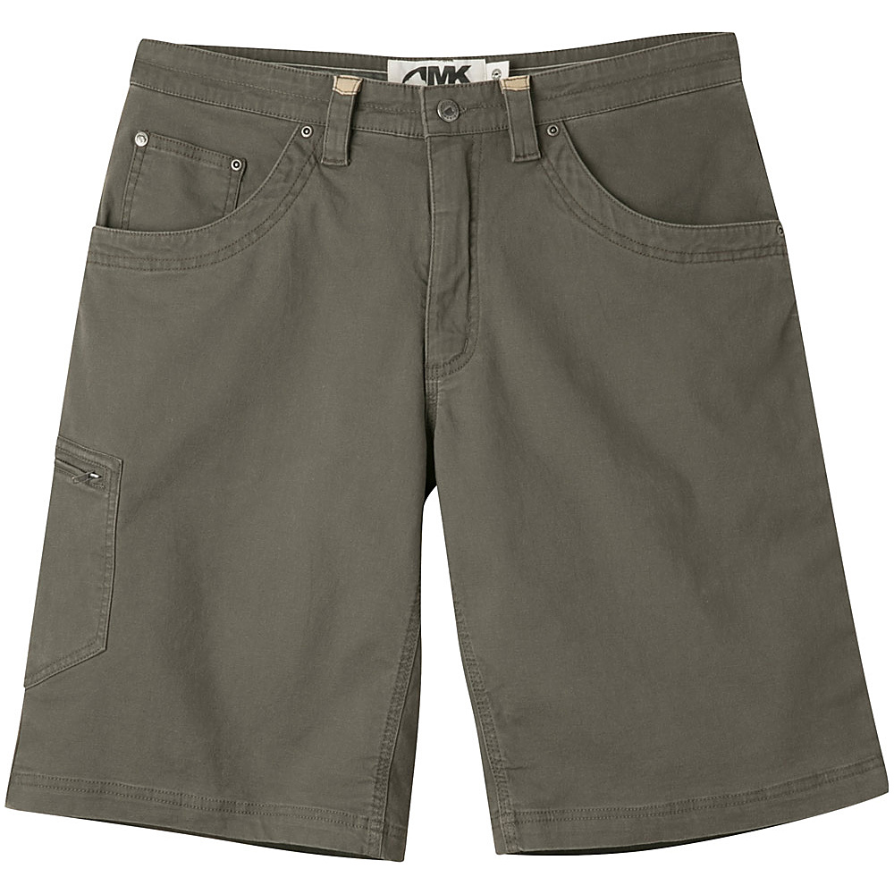 Mountain Khakis Camber 107 Shorts 34 - 9in - Terra - 10W 18.5in - Mountain Khakis Mens Apparel - Apparel & Footwear, Men's Apparel