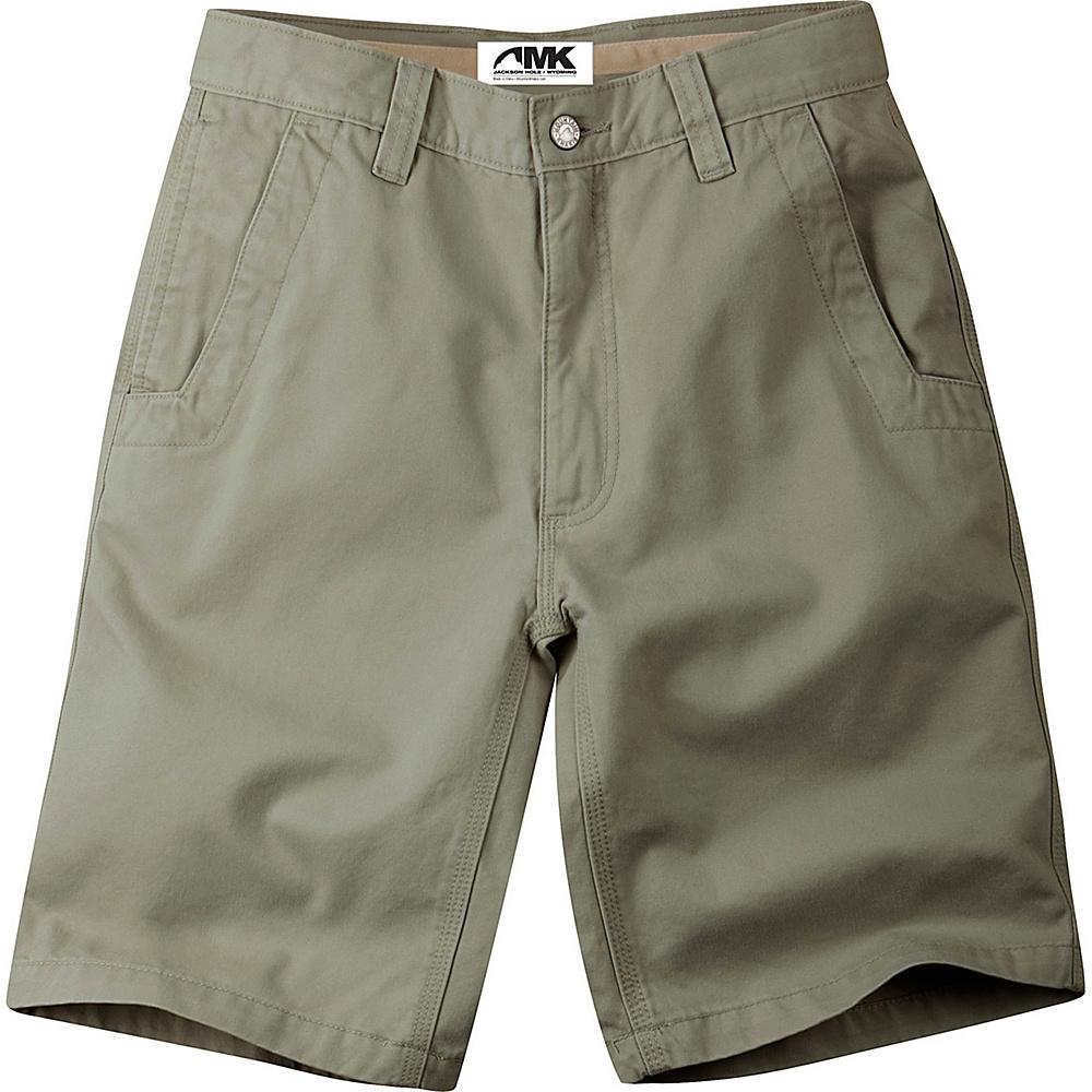 Mountain Khakis Teton Twill Shorts 28 - 10in - Olive - Mountain Khakis Mens Apparel - Apparel & Footwear, Men's Apparel