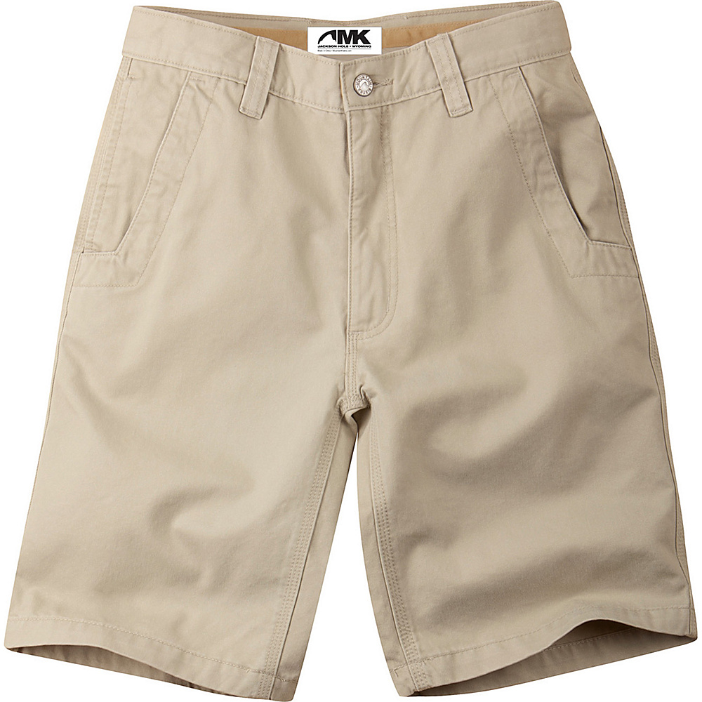 Mountain Khakis Teton Twill Shorts 35 - 10in - Sand - 30W 10in - Mountain Khakis Mens Apparel - Apparel & Footwear, Men's Apparel