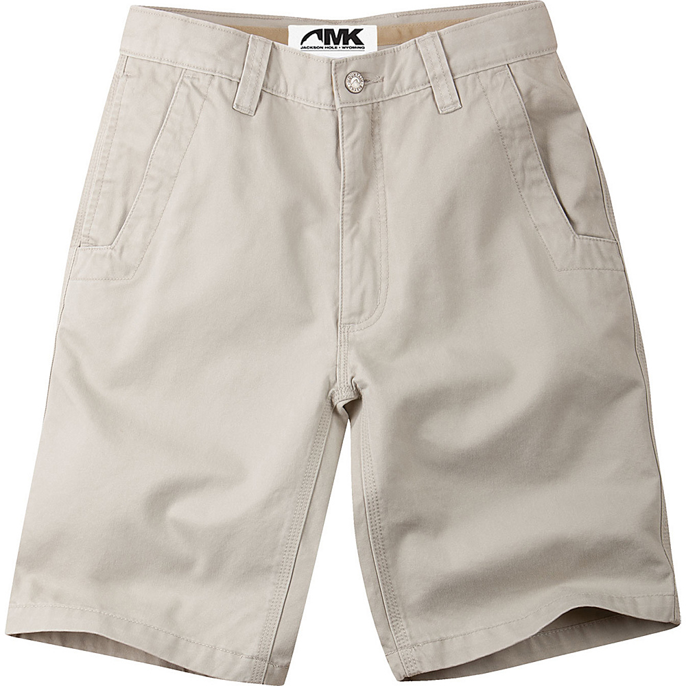 Mountain Khakis Teton Twill Shorts 35 - 10in - Stone - Mountain Khakis Mens Apparel - Apparel & Footwear, Men's Apparel