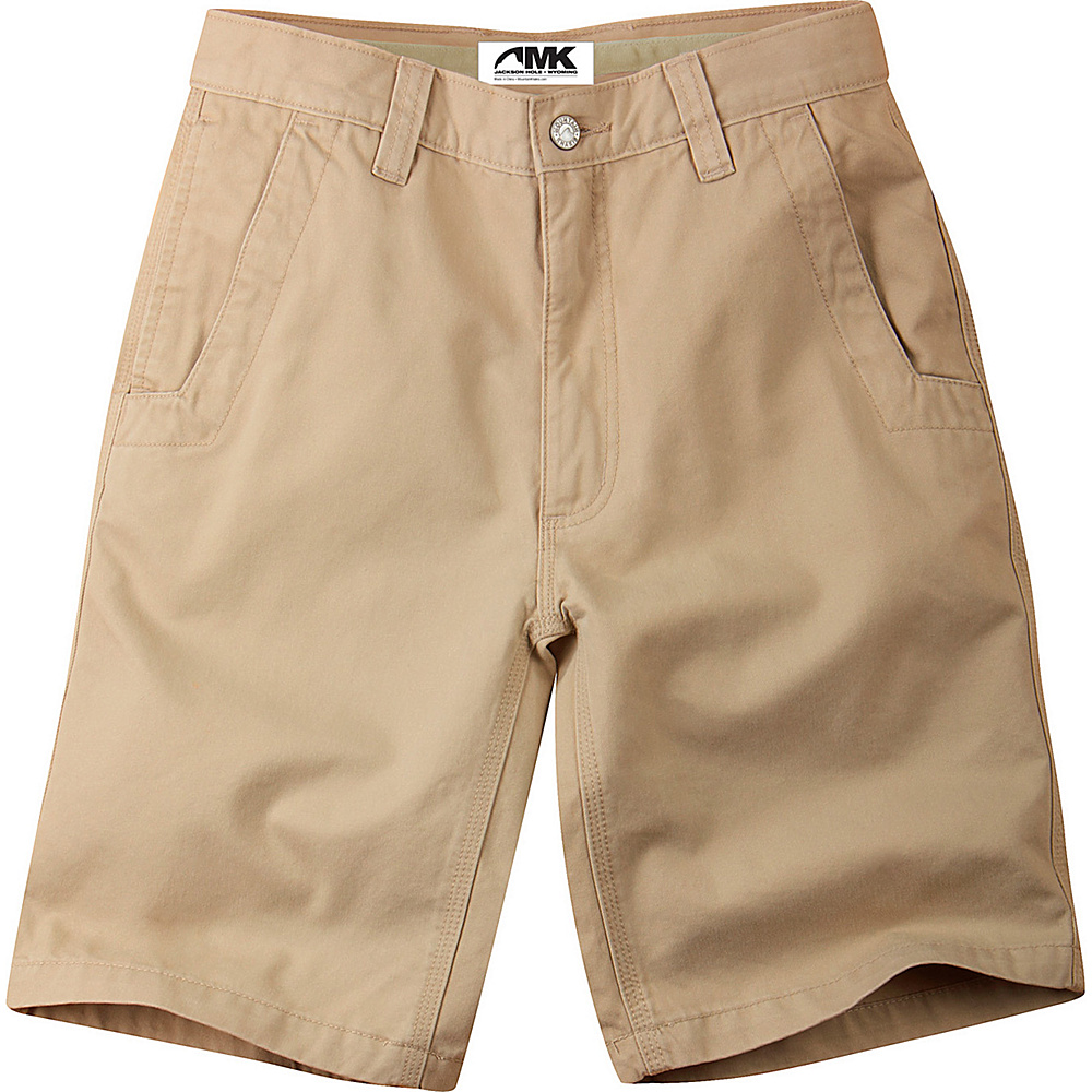 Mountain Khakis Teton Twill Shorts 30 - 10in - Olive - 30W 10in - Mountain Khakis Mens Apparel - Apparel & Footwear, Men's Apparel