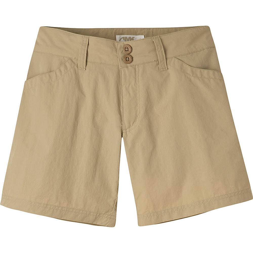 Mountain Khakis Equatorial Shorts 8 - 6.5in - Retro Khaki - Mountain Khakis Womens Apparel - Apparel & Footwear, Women's Apparel