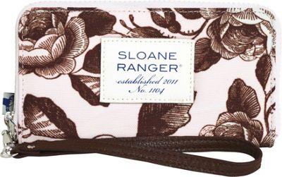 Sloane Ranger Large Smartphone Wallet Tea Time - Sloane Ranger Women's Wallets