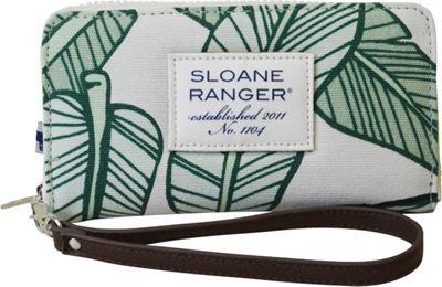 Sloane Ranger Large Smartphone Wallet Banana Leaf - Sloane Ranger Women's Wallets