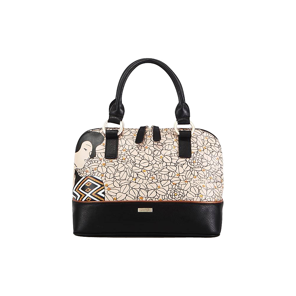 Icon Shoes Dome Satchel Silhouette Icon Shoes Leather Handbags