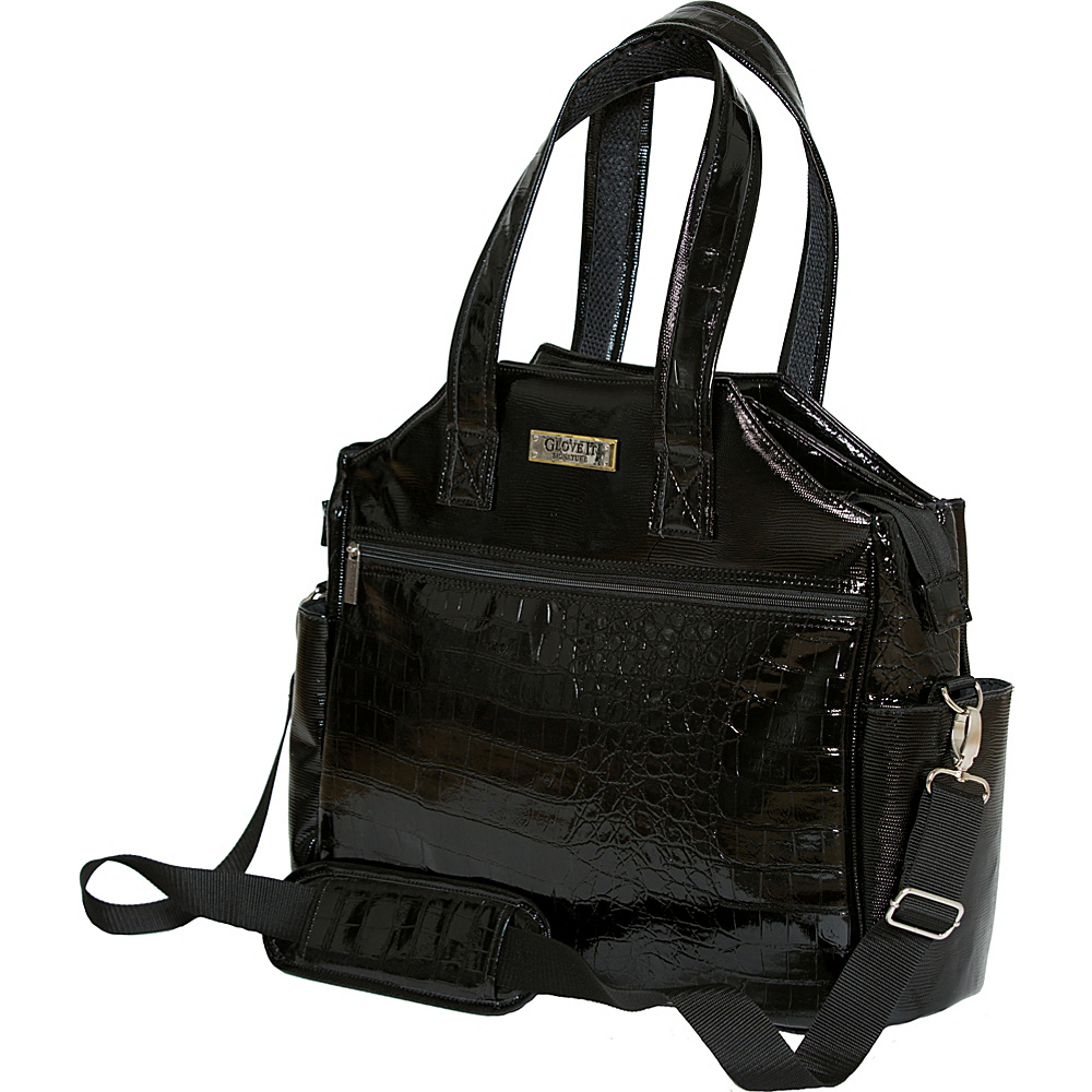 Glove It Signature Croco Tennis Tote Black - Glove It Other Sports Bags