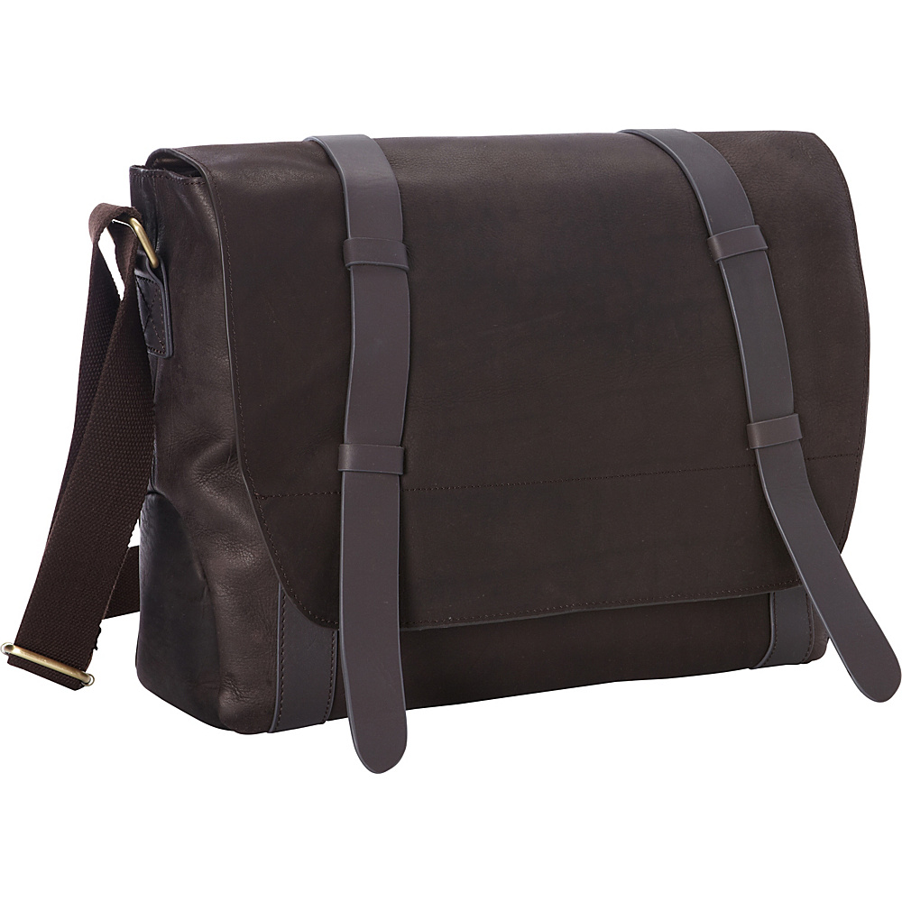 Goodhope Bags Oxford Leather Messenger Bag Brown Goodhope Bags Messenger Bags