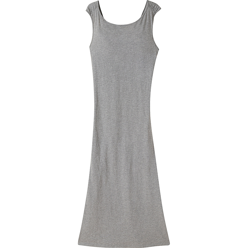 Mountain Khakis Solitude Maxi Dress S - Heather Grey - Mountain Khakis Womens Apparel - Apparel & Footwear, Women's Apparel