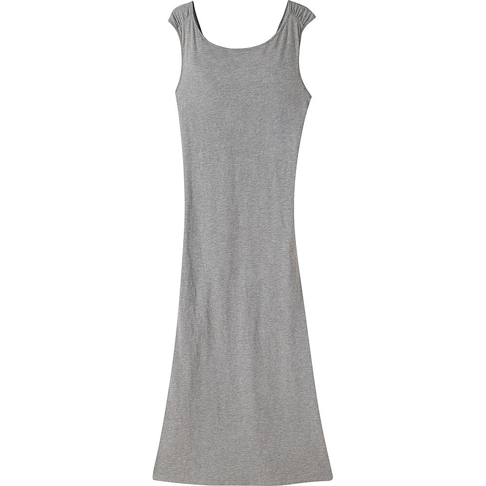 Mountain Khakis Solitude Maxi Dress L - Heather Grey - Mountain Khakis Womens Apparel - Apparel & Footwear, Women's Apparel