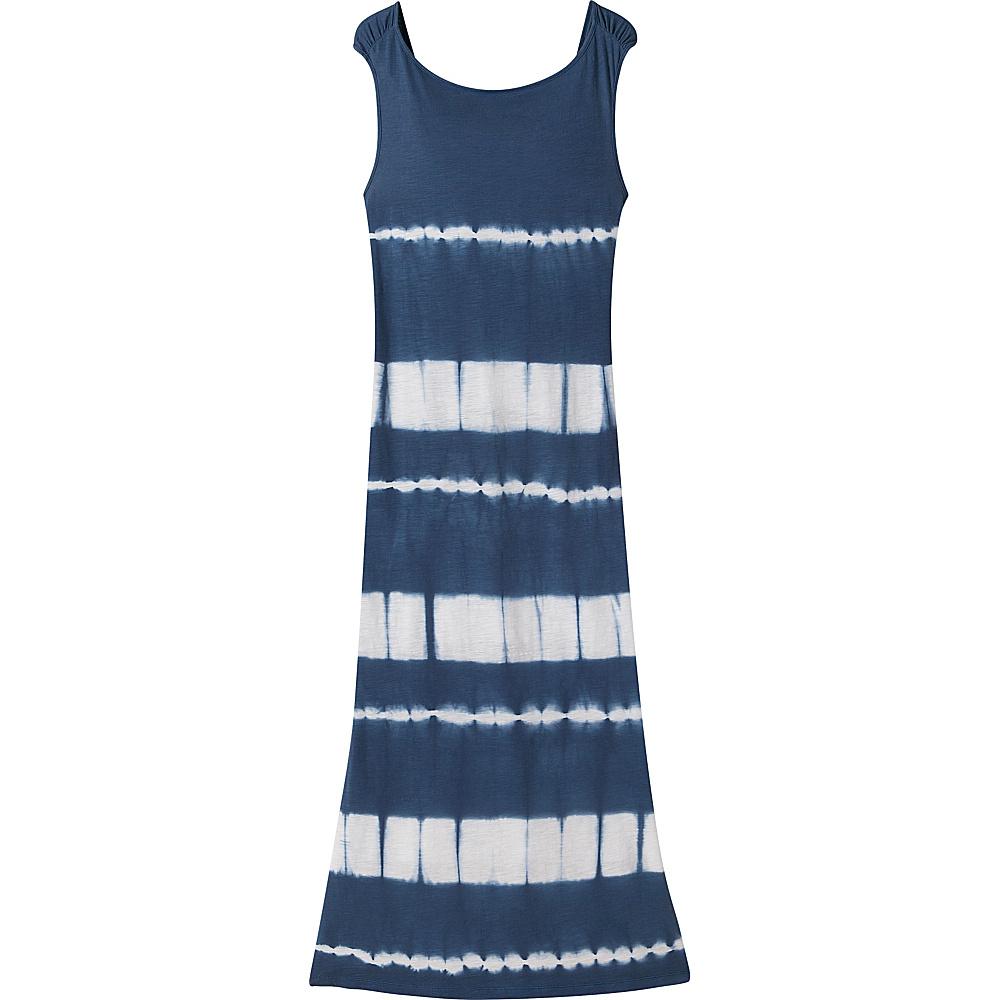 Mountain Khakis Solitude Maxi Dress L - Midnight Blue Tie Dye - Mountain Khakis Womens Apparel - Apparel & Footwear, Women's Apparel