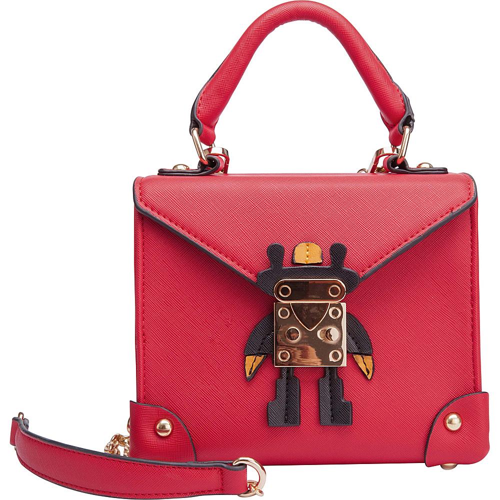 Ann Creek Women's Johston Crossbody Purse Red - Ann Creek Manmade Handbags