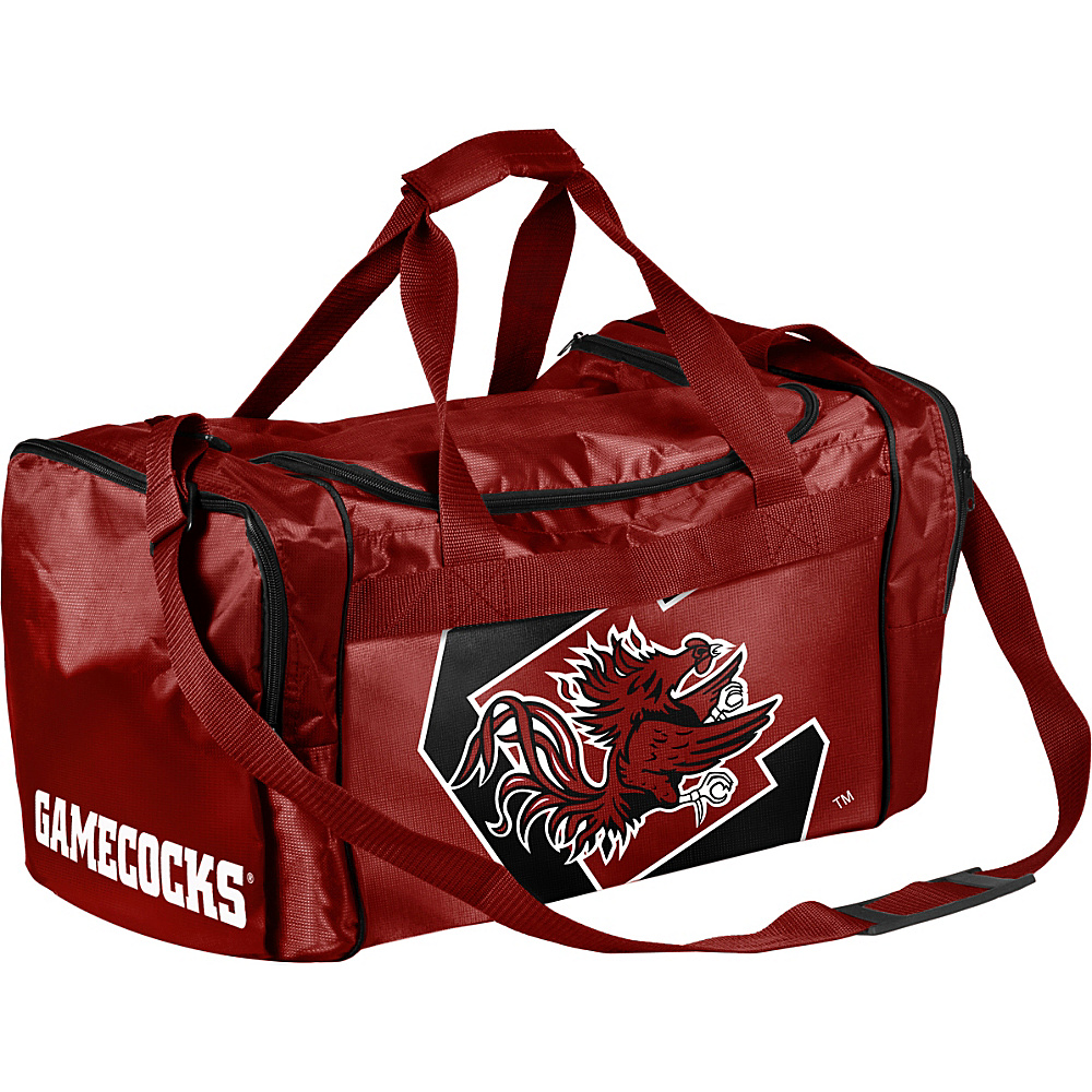 Forever Collectibles NCAA Forever Collectibles Core Duffle Bag University of South Carolina Gamecocks Red Forever Collectibles Gym Duffels
